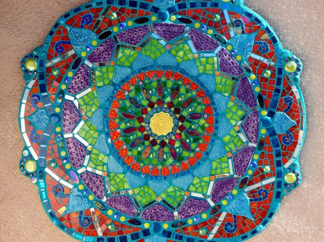 Mosaic Mandala resized
